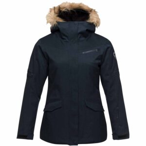 2018-19 Rossignol Parka Womens Ski Jacket eclipse blue