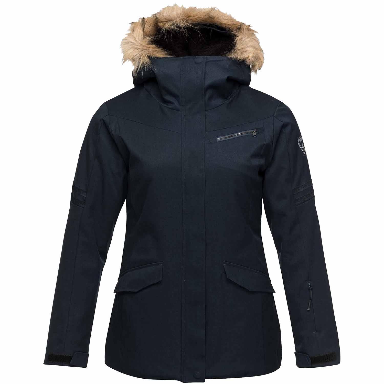 425d4b326228 2018-19 Rossignol Parka Womens Ski Jacket eclipse blue