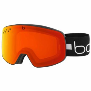 2019-20 bolle nevada matte black lines photochromic