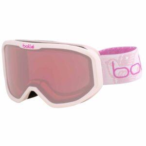 2019-20 bolle inuk kids ski goggle matte pink princess vermillon lens