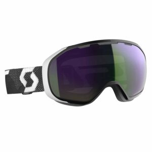 2019-20 scott fix ski goggle black white