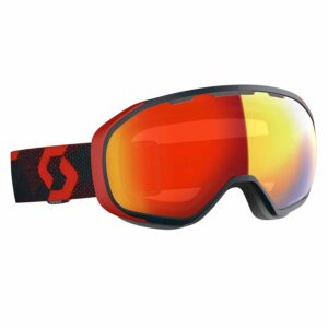 2019-20 scott fix ski goggle red blue nights