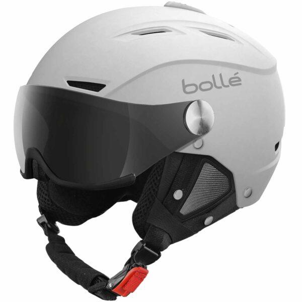 2019-20 bolle backline visor ski helmet soft white