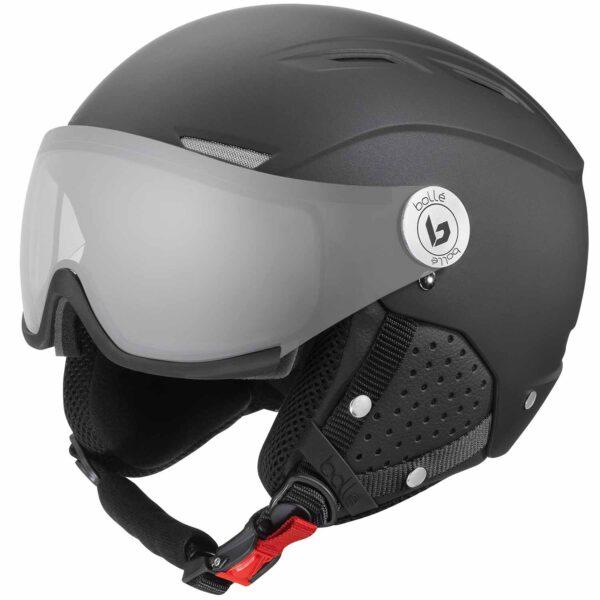 2019-20 bolle backline visor premium photochromic lens ski helmet matte galaxy black