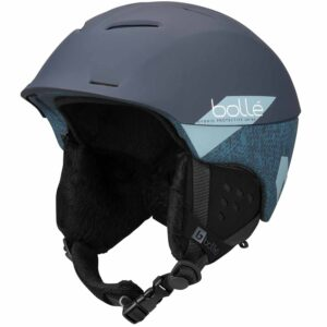 2019-20 bolle synergy ski helmet soft navy slash