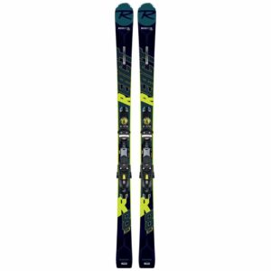 rossignol react r8 hp ski with nx 12 konect binding