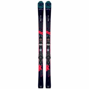 rossignol react r8 ti ski with spx 12 konect binding