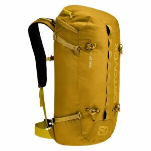 2019-20 ortovox trad 26 zip backpack yellow stone