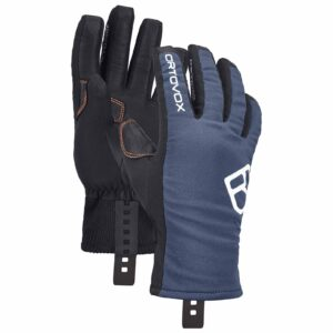 2019-20 ortovox tour ski glove night blue