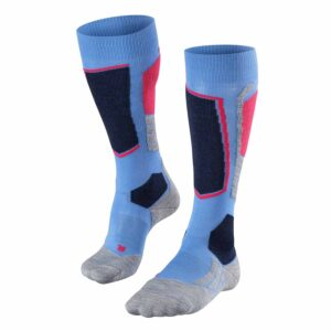 2019-20 falke sk2 womens ski sock blue note front