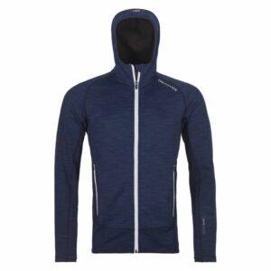 2019-20 ortovox mens space dyed fleece hoody dark navy