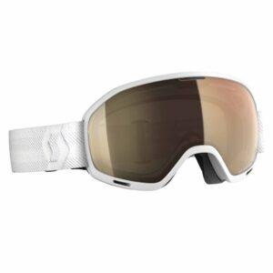 2019-20 scott unlimited otg ski goggle white over the glasses