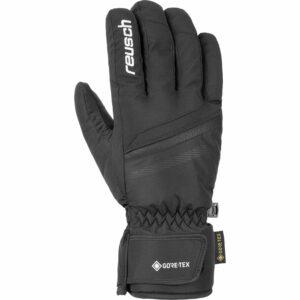 2019-20 reusch frank ski glove black white
