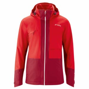 2019-20 maier gravdal xo mens ski and outdoor jacket rio red