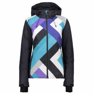 cmp fixed hood womens ski jacket