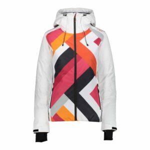 cmp womens fixed hood ski jacket