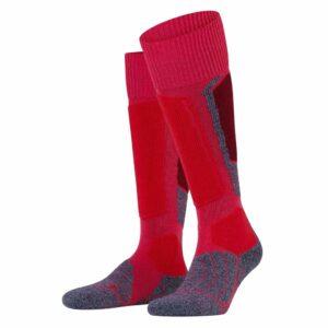 falke sk1 womens ski sock rose front