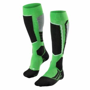 falke sk2 mens ski sock green front