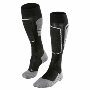 falke sk4 mens ski sock black mix