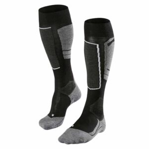 falke sk4 womens ski sock black mix