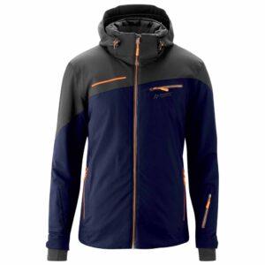 maier fluorine mens ski jacket night sky