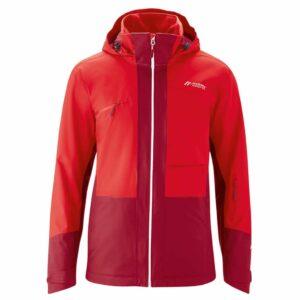 maier gravdal xo mens ski and outdoor jacket rio red