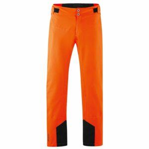 maier neo mens ski pant shock orange