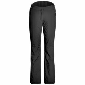 maier vroni slim long leg womens ski pant black