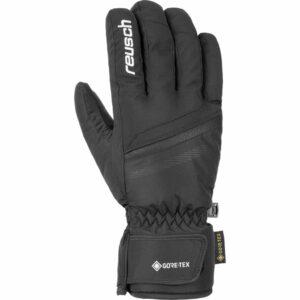 reusch frank ski glove black white