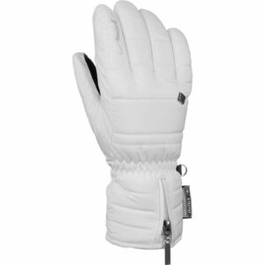 reusch martina womens ski glove white
