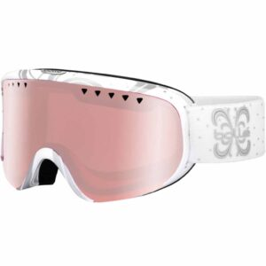 21385 Bolle Scarlett White Night Ski And Snowboard Goggle 2020-21