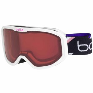 22068 Bolle Inuk White Purple Kids Ski and Snowboard Goggle 2020-21