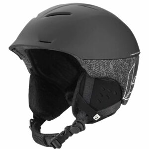 Bolle Synergy Black Matte Ski and Snowboard Helmet 2020-21 32064-32065 (002)