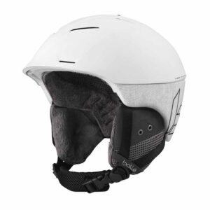 Bolle Synergy White Matte Ski and Snowboard Helmet 2020-21 32066-32067-32068
