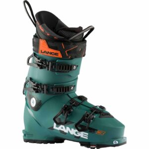 LBJ7030_Lange XT3 Mens Freeride Ski Boot Jungle green 2020-21