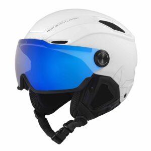 Bolle V-Line White Ski And Snowboard Helmet 2020-21 -32084-32085-32086 (002)