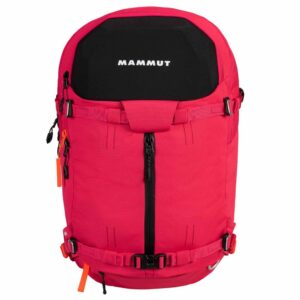 2560-00051-3654_Mammut Nirvana Womens 35 Litre Ski Touring Backpack Dragon Fruit-Black
