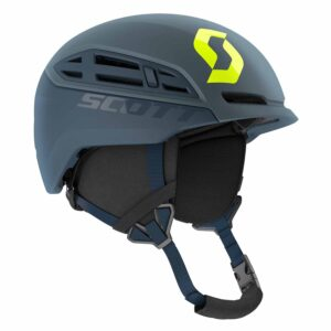 2717496622 Scott Couloir Mountain And Ski Helmet Storm Grey/Ultralime Yellow