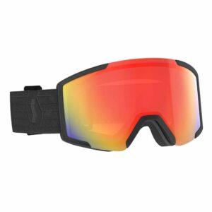 2778360001341 Scott Shield Ski Goggles Light Sensitive Black