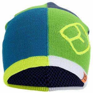 68003-ortovox-patchwork-beanie-beanie-matcha-green merino wool