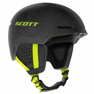 Scott Track Plus MIPS Ski Helmet Dark Grey Ultralime Yellow