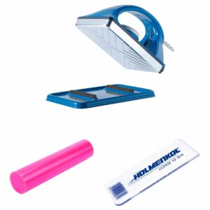 Holmenkol Hot Wax Kit For Skis And Snowboards