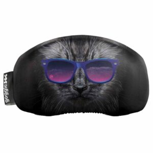 Gogglesock Goggle Lens Cover Bad Kitty