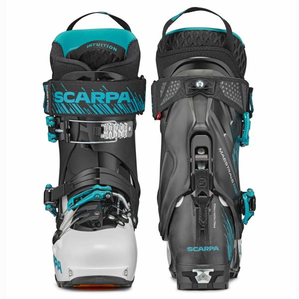 Scarpa Maestrale RS Touring Ski Boots 12051 front and rear
