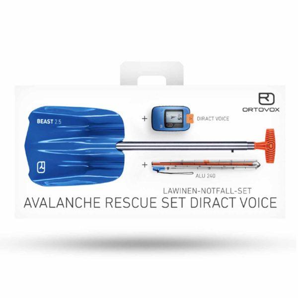 Ortovox Avalanche Rescue Set Diract Voice box