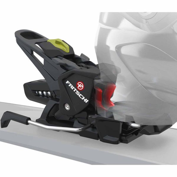 Fritschi Tecton 12 Carbon Ski Touring Binding heel in